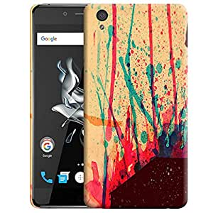 Theskinmantra Colors back cover for OnePlus X