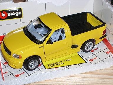 Ford F150 F 150 Lightning Gelb