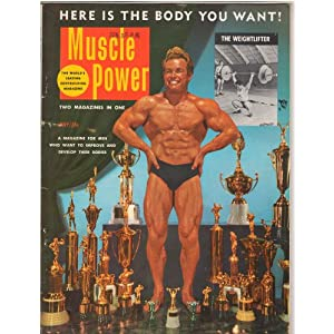 Muscle Power Body Building Magazine Roy Hilligenn July 1953: Roy ...
