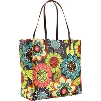 Vera bradley scallop tote flower shower handbags for Vera bradley bathroom bag