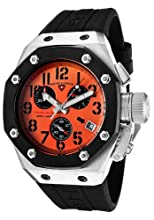 Swiss Legend Men s 10541-06-BB Trimix Diver Collection Chronograph Black Rubber Watch