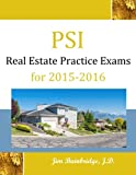 PSI Real Estate Practice Exams for 2015-2016