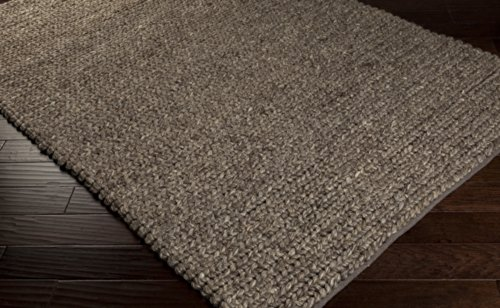 Surya Desoto Dso-200 Transitional Hand Woven 100% Wool Espresso 2' X 3' Accent Rug