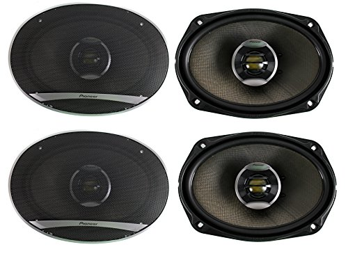 4) Pioneer 6x9 Inch 720W 2-Way Speakers Four | TS-D6902R (D Series Pioneer Components compare prices)