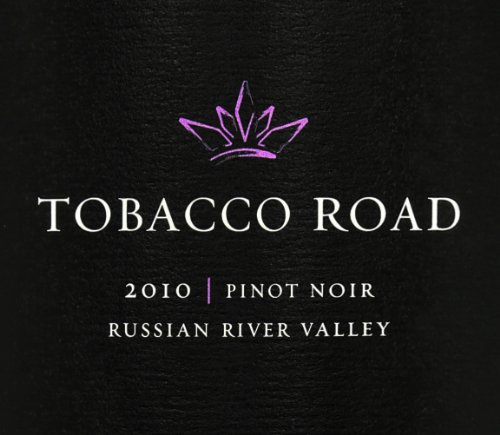 2010 Tobacco Road Pinot Noir, Russian River Valley 750 Ml