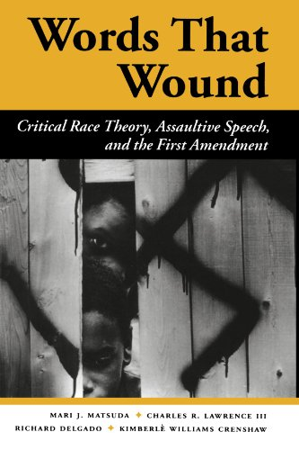 Words That Wound: Critical Race Theory, Assaultive Speech, And The First Amendment (New Perspectives on Law, Culture & Society)
