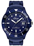 S.Oliver Men's Quartz Watch SO-2680-PQ with Plastic Strap