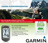 Topo Garmin Alpenvereinskarten Rastermap at microSD/SD - suitable for Dakota 20, Oregon 450, Oregon 450t, GPSMap 78s, GPSMap 62s, Oregon 550, GPSMap 62st, Oregon 550t,