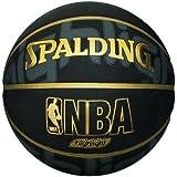 Spalding NBA Highlight Outdoor Basketball, Size 7 (Black)