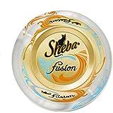 Sheba Fusion Katzenfutter Thunfisch und Geflügel, 24 Dosen (24 x 80 g)
