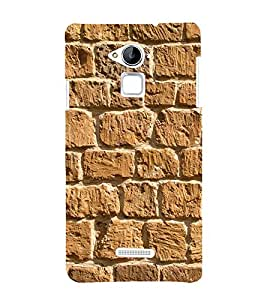 Beautiful Rock Wall 3D Hard Polycarbonate Designer Back Case Cover for Coolpad Note 3