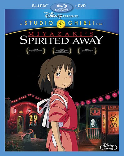 Spirited Away (2-Disc Blu-ray + DVD Combo Pack) - Original Story And Screenplay By Hayao Miyazaki