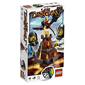 Lego Lava Dragon Game 3386