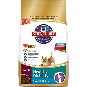 Hill's Science Diet Adult Healthy Mobility Small Bites Dry Dog Food, 30-Pound Bag