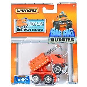 Matchbox Big Rig Buddies Lanky The Crane Truck