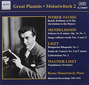 Great Pianists: Benno Moiseiwitsch 2