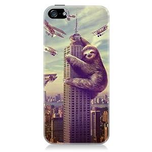 Sharp Shirter Slothzilla iPhone 5 Case