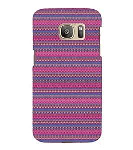 EPICCASE ethnic pattern Mobile Back Case Cover For Samsung Galaxy S7 Edge (Designer Case)
