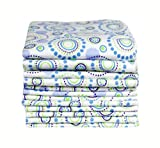 Imsevimse Washable Wipes Waschlappen 12er Pack Orbit blau