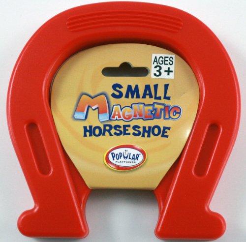 Blue Horseshoe Magnet Fun Novelty Gift Pocket Money Party Bag Stocking Filler - 1