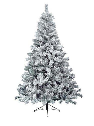 Everlands 683631 Snowy Toronto Kiefer Weihnachtsbaum grün mit Schnee 210 cm künstliche Tanne Christbaum thumbnail