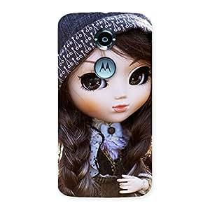 Cute Sweet Angel Doll Back Case Cover for Moto X 2nd Gen