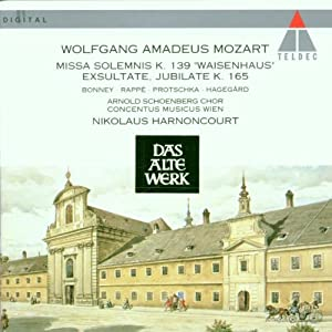 Mozart Sacred Vocal Works by Teldec