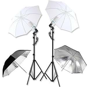 photographique kit d 39 clairage studio photo daylight lumi re du jour kit clairage douille. Black Bedroom Furniture Sets. Home Design Ideas