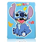 Cartoon Blue Stitch and Lilo Stand De...