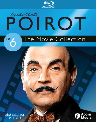 Cover art for  Agatha Christie's Poirot: The Movie Collection - Set 6 [Blu-ray]