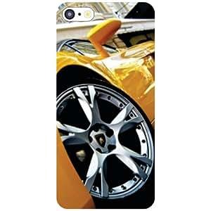 Apple iPhone 5C Back Cover - Yellow Car Designer Cases