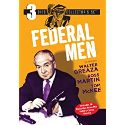 Federal Men 3-Disc Set (16 Episodes)