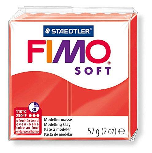 Staedtler Fimo Soft 8020 24 Argilla 56g Rosso Indiano PDF