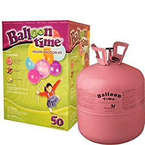 Free balloon time helium tank balloon kit coupon