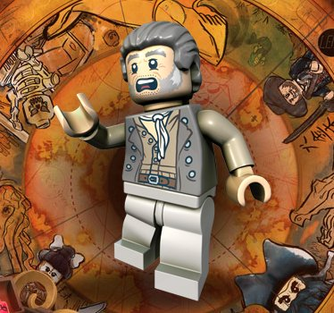 51tnz11mtsL Cheap  Joshamee Gibbs Lego Pirates of the Caribbean Minifigure