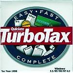 Quicken TurboTax {Federal Return Tax Year 1998}