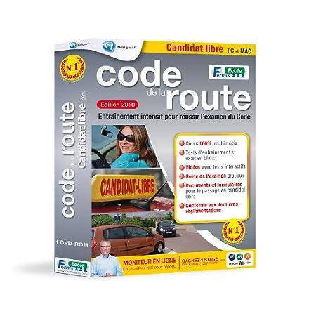 Code de la route candidat libre - édition 2010