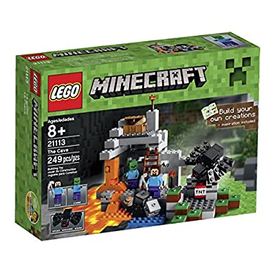 Lego Minecraft The Cave 21113 Playset by LEGO Minecraft
