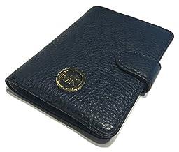 Michael Kors Fulton Passport Case Holder (Navy)
