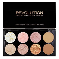Makeup Revolution Makup Revolution Ultra Blush Palette Golden Sugar�, 13g