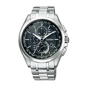 【クリックで詳細表示】[シチズン]CITIZEN 腕時計 ATTESA アテッサ Eco-Drive エコ・ドライブ 電波時計 ダイレクトフライト 針表示式 薄型 マスコミモデル AT8040-57E メンズ: 腕時計通販
