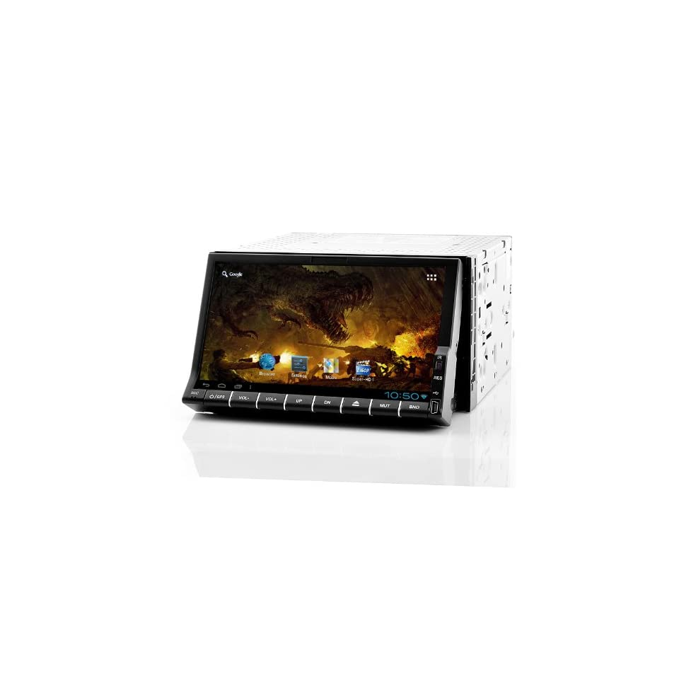 Dozen Mobile 2 DIN Android Car DVD Player  7 Inch Screen, GPS, WiFi, Analog TV