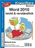 Word 2010 leicht und verständlich