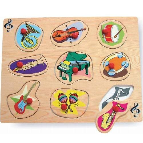 Cheap Puzzled Music Instruments Peg Wooden Puzzle (B000WOR1RE)
