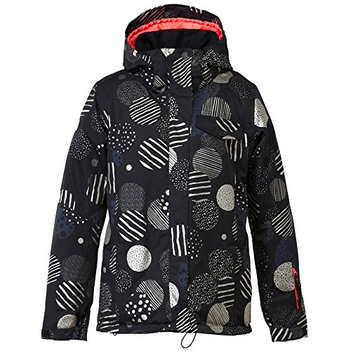 Roxy Jetty Insulated Jacket – Women's Russian Doodles/Bright White, S
