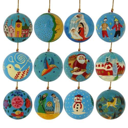 Rbol de navidad adornos decoraci n hogar azul turquesa - Adornos colgantes de navidad ...
