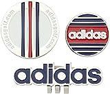 adidas Golf(アディダスゴルフ) AWS45 ツインクリップマーカー  AWS45 A15788 ネイビー/ホワイト