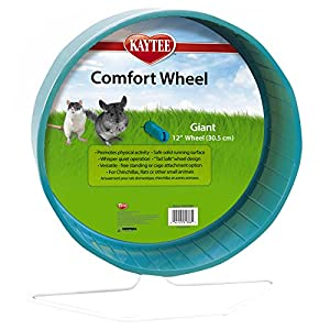 Kaytee Giant Comfort Exercise Wheel, 12-Inch,  Colors Vary