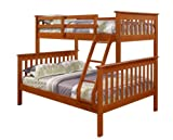 Bunk Bed Twin over Full Mission Style in Espresso