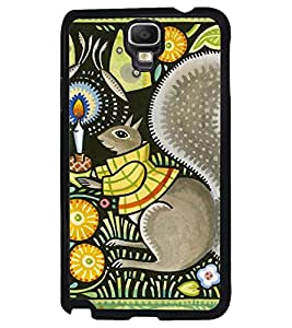 Printvisa Animated Candlelight Mouse Pic Back Case Cover for Samsung Galaxy Note 3 Neo N7505